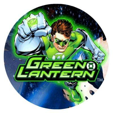 GREEN LANTERN rundt bilde.
