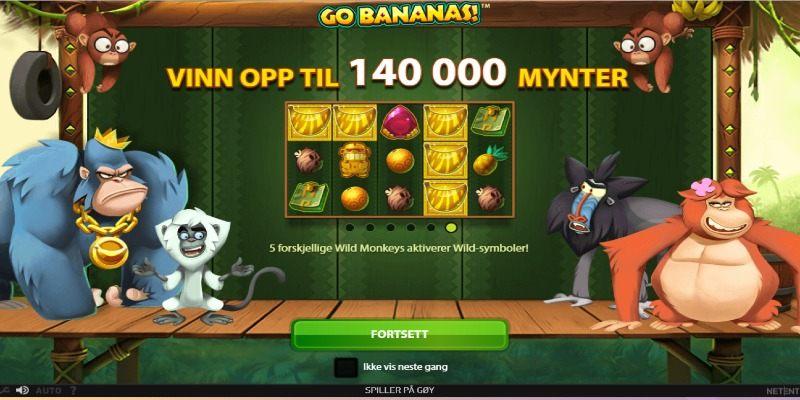 Go Bananas tema og design