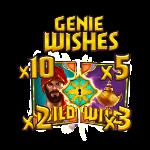 Golden genie icon 1