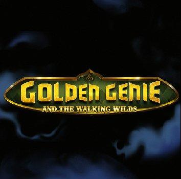 Golden genie logo