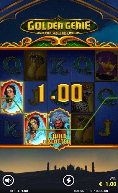 Golden genie screenshot 1