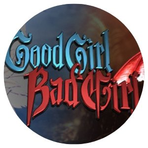 Good Girl Bad Girl rundt bilde.