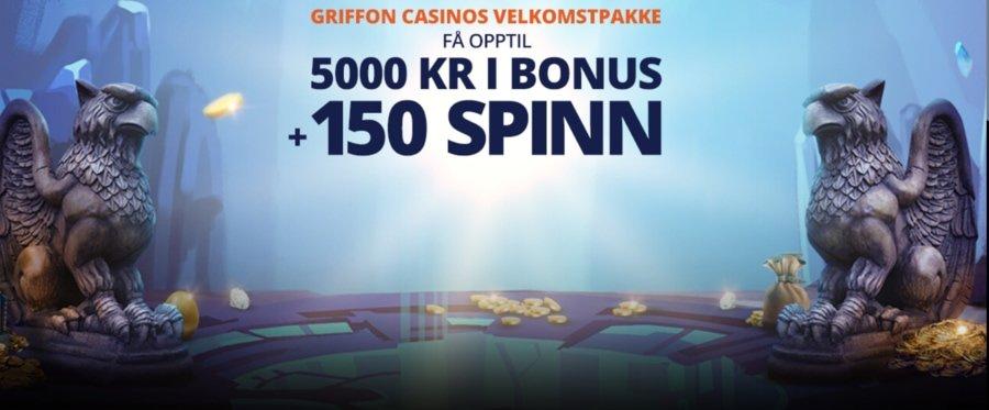 Griffon Casino velkomstbonus