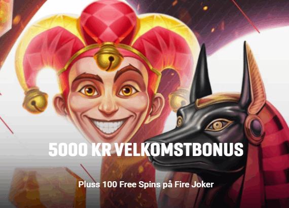 Guts Casino Norge bonus
