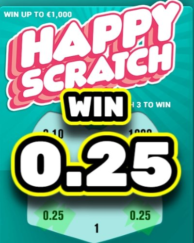 Happy Scratch Vinn