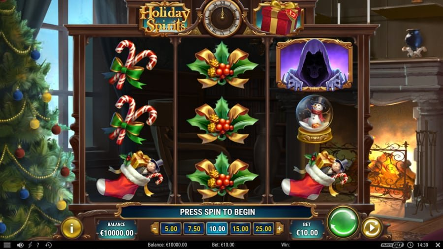 Holiday Spirits Tema og design