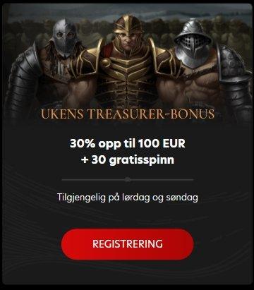 Kingdom Casino freespins