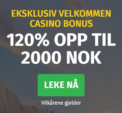 Lapilanders Casino Norge bonus