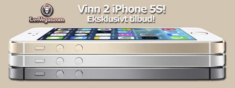 Leovegas iPhone 5s - desember