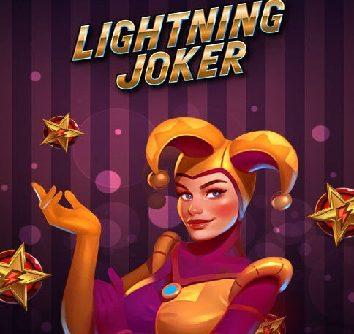 Lightning joker logo
