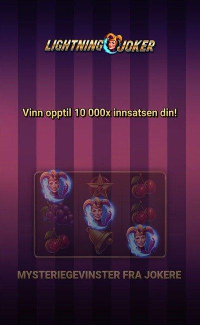 Lightning joker screenshot 1