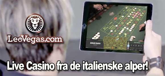 Live-casino-leovegas-italia