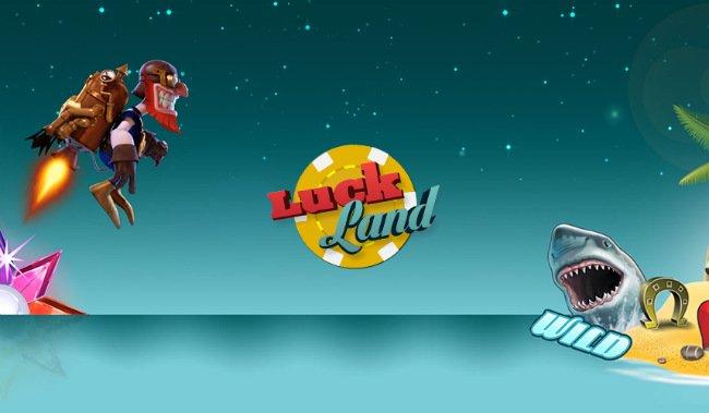 Pengespill hos Luckland.
