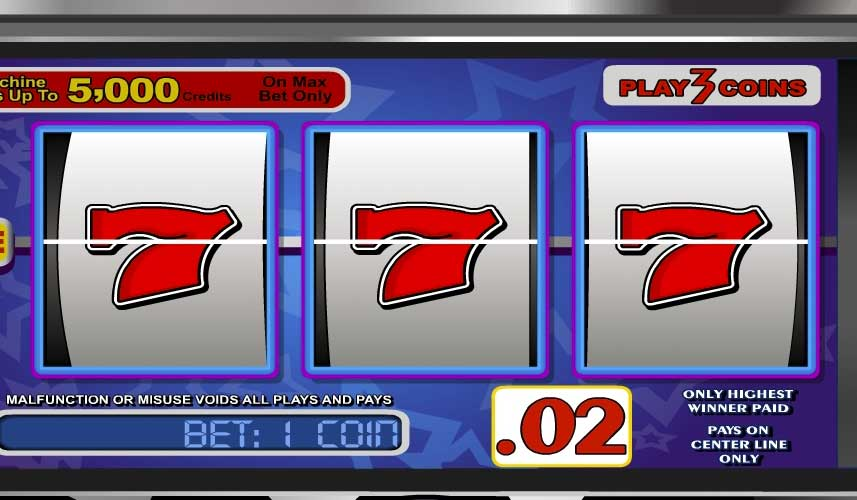 Lucky 7 automat