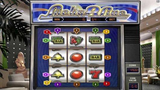 Lucky 8 Line automat