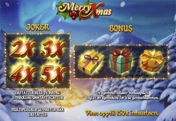 Merry-Xmas-spilleautomat