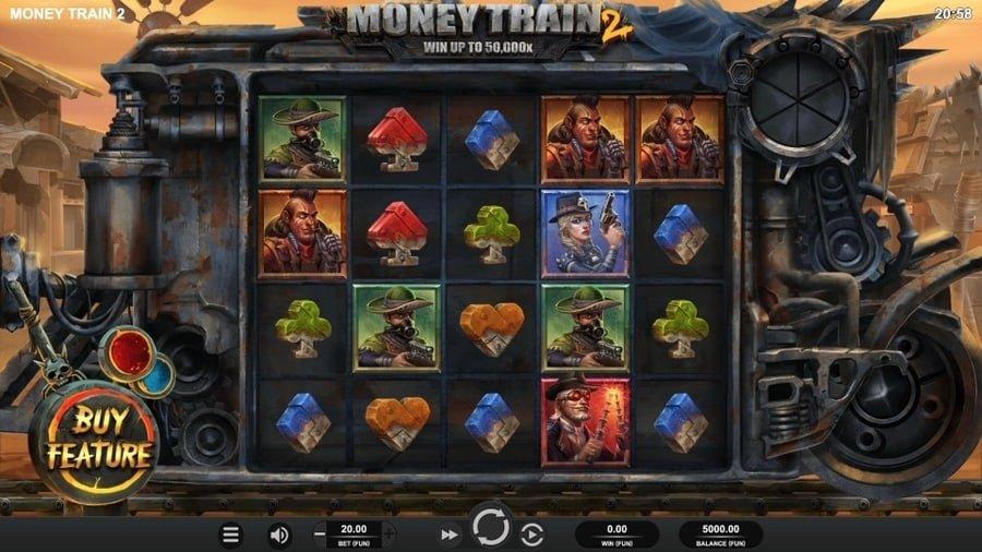 Money Train 2 spill