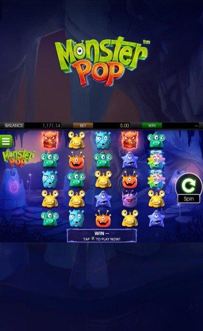 Monster Pop design og tema