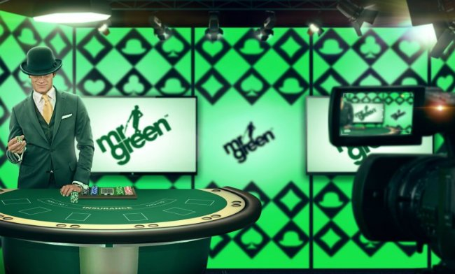Mr Green er et nettcasino.