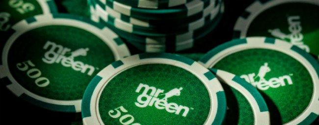 Mr Green tilbyr pengespill på nett.