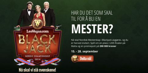 Nordisk mesterskap blackjack