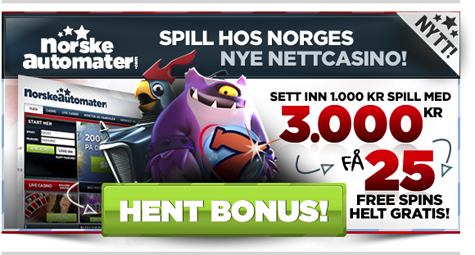 NorskeAutomater.com - banner