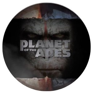 PLANETS OF THE APES - rundt bilde