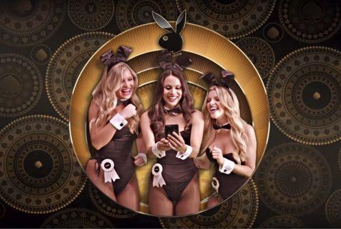 Spilleautomat med Playboy-tema.