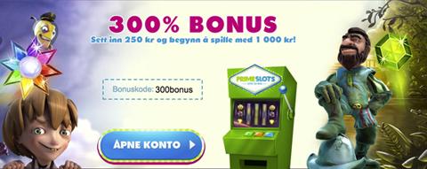 PrimeSlots 300 CS