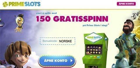 Primeslots bonus
