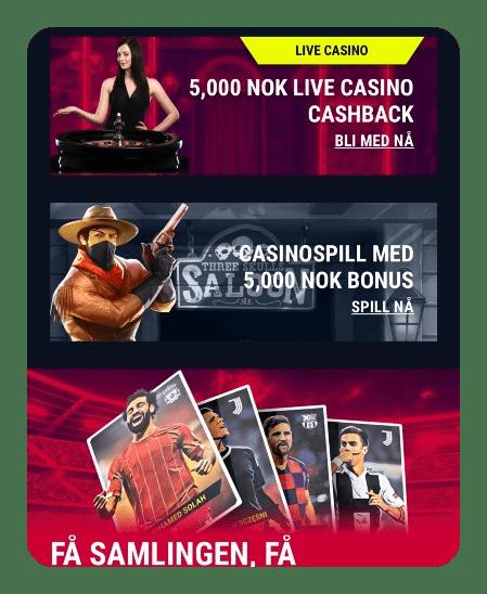 Rabona Casino bonus