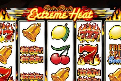 Retro Reels Extreme Heat automat