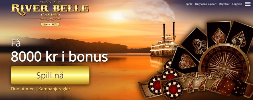 Riverbelle Casino Wilkommen