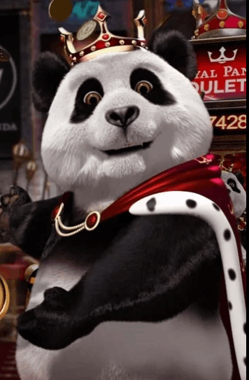 Royal Panda karakter