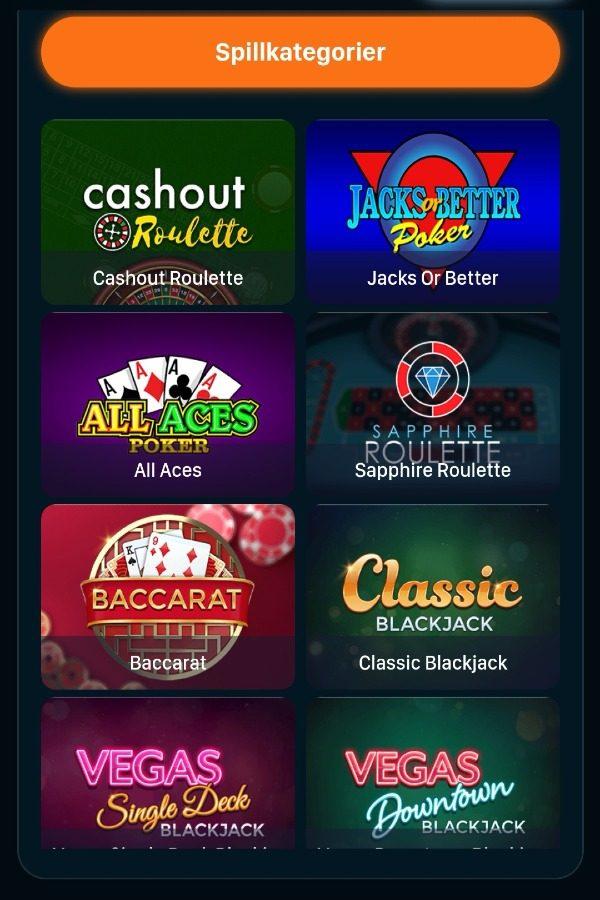 Rush casino live casino