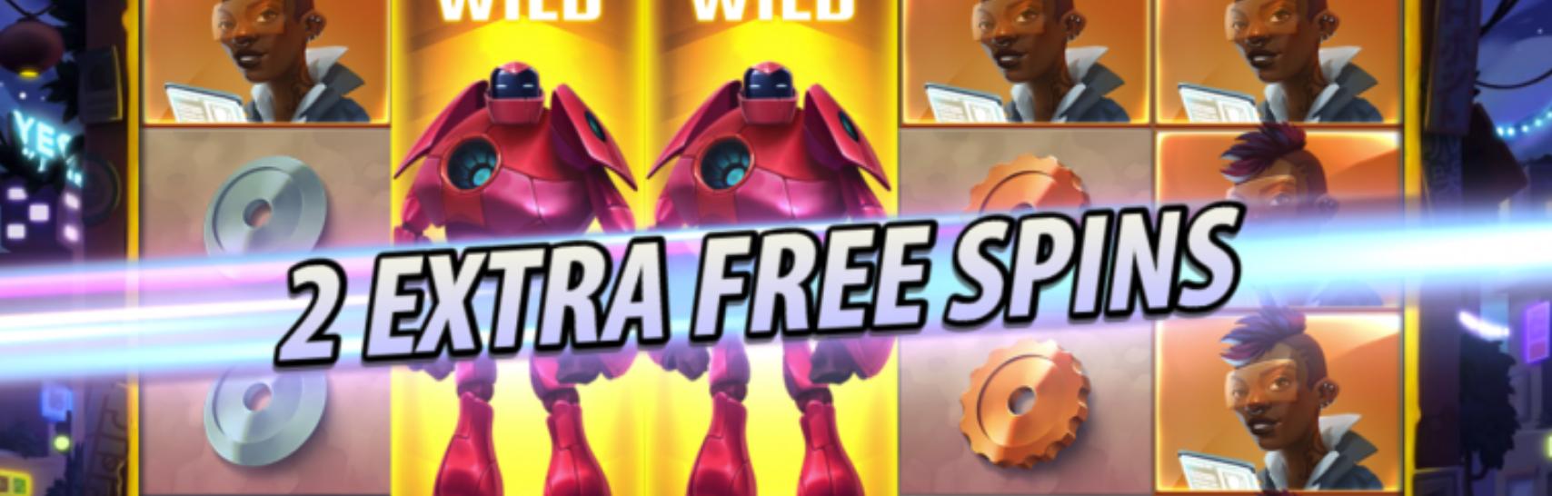 Big Bot Crew - Free Spins-bonusspill