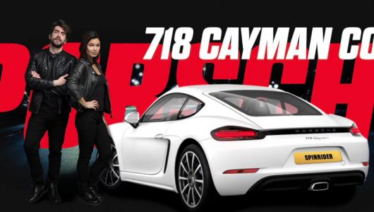 Vinn Porsche i Spin Rider Casino