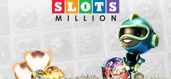 SlotsMillion har et stort utvalg av spilleautomater.