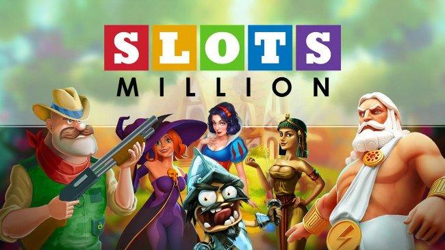 Spill casinospill hos SlotsMillion.