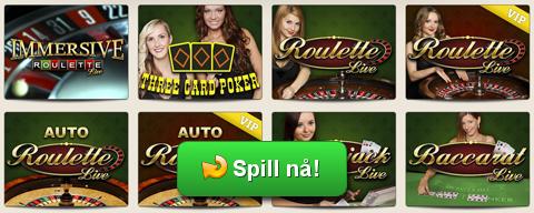 Spill Live Casino