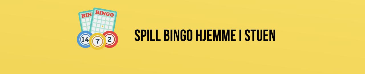 Spille bingo hjemme