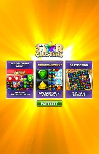 Star clusters design og tema