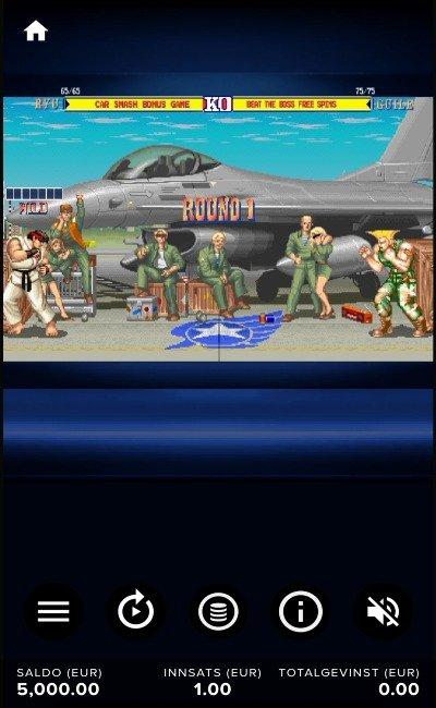 Street Fighter 2 design og tema