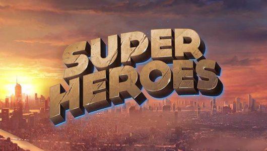 Super Heroes online slot spilleautomat