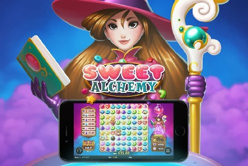 Sweet alchemy bingo logo