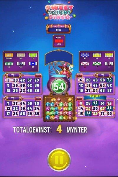 Sweet alchemy bingo screenshot 3