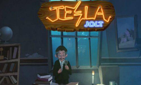 En spilleautomat som er en hyllest til Nikola Tesla.