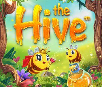 The Hive slot logo