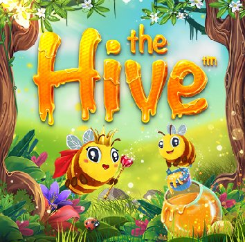The Hive slot logo