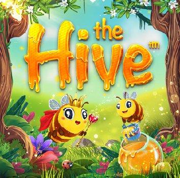 The Hive slot logo (2)